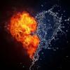 Почему вода тушит огонь?