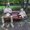 Памятник коту Бегемоту и Коровьеву