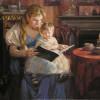 Детям полезнее слушать на ночь рассказы мам, чем пап, выяснили ученые